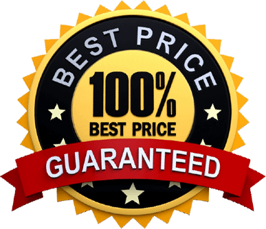 100% Best Price Guarantee